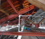 耐震鉄骨トラスト構造1