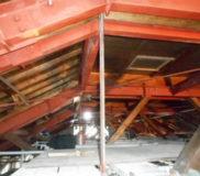 耐震鉄骨と高天井3